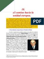 Camino hacia la Unión Europea