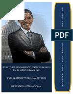 Ensayo Obama Inc