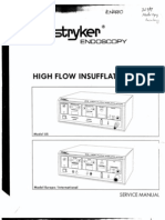 Stryker 30L Insufflator Service Manual