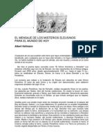 Albert Hofmann - Mensaje de Los Misterios Eleusinos