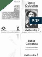 Lucio Poemas, Canciones Stunam