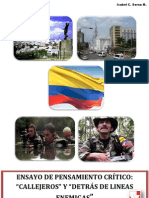 Ensayo - Callejeros y Behind the Enemy Lines