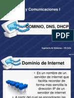 DNS, Dhcp, Dominio