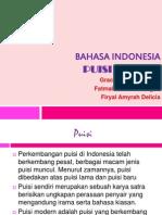 Presentasi Bahasa Indonesia Puisi Modern