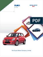 Suzuki Annual Report 2011