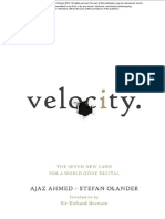 June Free Chapter - Velocity by Ajaz Ahmed & Stefan Olander
