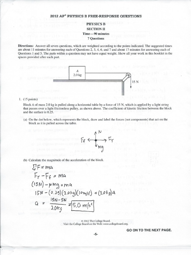 Physics syllabus dot point questions and answers Coursework Example
