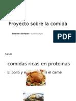 Proyecto Sobre La Comida