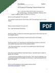 BIOL 3312 F11 a&P Textbook Review Form