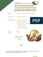 Etapas de La Formuylacion de Proyectos
