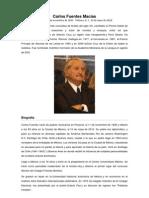 Carlos Fuentes Macías