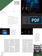 Espacio Sonoro y Visual Para La Puesta en Escena-Macarena Baeza