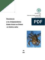 1-Fao157 (Resistencia a Los Anitparasitario-estado Actual Con Enfasis en America Latina)