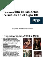 Desarrollo de las Artes Visuales en el siglo xx 8 año _2012