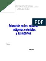 Trab.Culturas indígenas