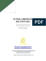 Diccionario Castellano Inglés Alemán Francés Italiano