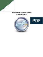 Aldelo 3.0 Manual