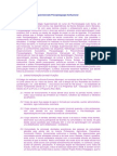 Relatório de Estágio supervisionado Psicopedagogia Institucional