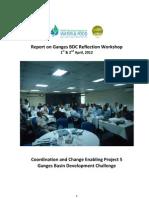Report on Ganges Reflection Workshop