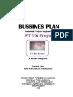Business plan Yoghurt