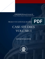 Project on National Security Reform - Vol. 1 Case Studies Working Group Report