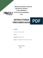 informe construcciones prefabricadas