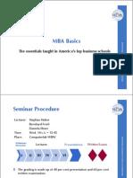 MBA Basics