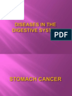 Diseases in the Digestive System