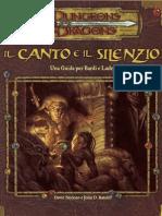 [D&D 3.0e - Ita] Il Canto e Il Silenzio