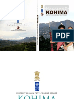 KOHIMA District Human Development Report
