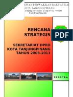 Renstra Sekretariat Dprd 2008-2013