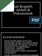 27. Ranah Afektif_Kognitif & Psikomotorik