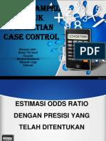 Estimasi or Utk Case Control