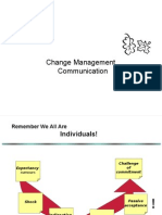 Change Management Communication Ppt