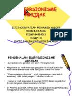 Abstrak Ekspresionisme.. Siti Noor Fatiah