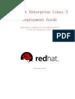 Red Hat Enterprise Linux 5 Deployment Guide Zh TW