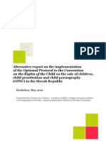 Alternative Report on the OPSC Implementation in Slovakia_May 2012