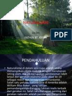 NATURALISME/ realism (FATHIN BT JEFFRY)