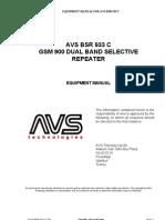 AVS BSR 933 C QE 1-0-0