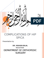 Complications of Hip Spica 10-12-11