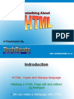 Something About HTML