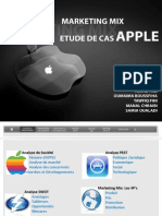 Analyse Marketing - Apple