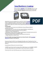 Cara Instal Ulang Blackberry Lengkap