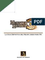 Guia Monster Hunter Tri Definitiva
