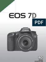 Manual Romana Canon EOS 7D