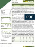 Titan Industries Ltd_Initiating Coverage_Fairwealth Securities Ltd_10April 2012