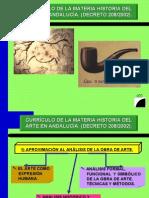 CURRICULO HISTORIA DEL ARTE ANDALUCIA