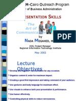 MBA Presentation Skills