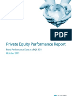 ASia Private Equity Fund Performance Preqin