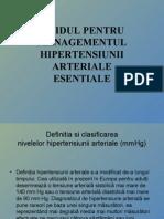 Ghidul Pentru Managementul Hipertensiunii Arteriale